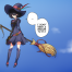 Alyn in Little Witch Accademia