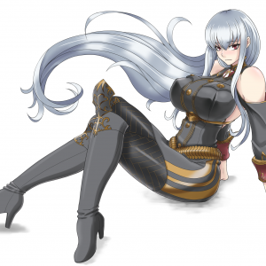 selvaria bless valkyria chronicles