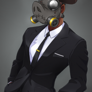 suit gas mask
