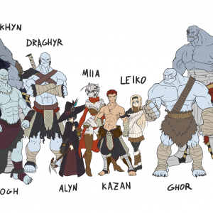 ice ogres characters