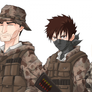 anime manga soldiers